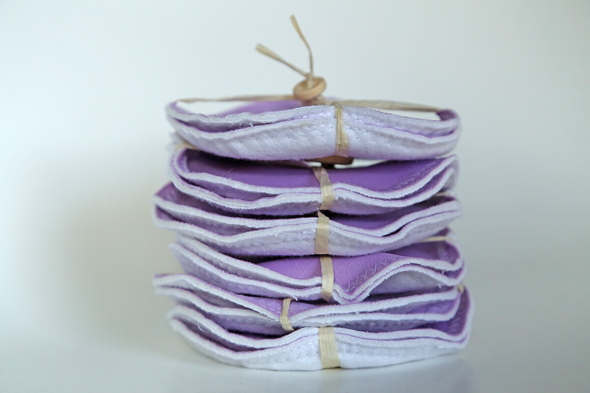 Mama Melon™ Breastfeeding Pads - purple 2