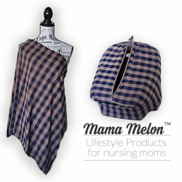 Nursing Scarf/ Cover checkered