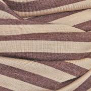 Nursing Cover brown stripe