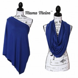Nursing Scarf/ Cover midnight blue