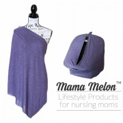 Nursing Cover mottled purple