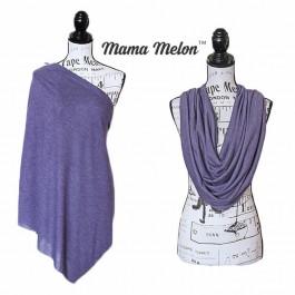 Nursing Cover mottled purple