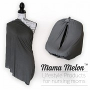 Nursing Cover silver grey