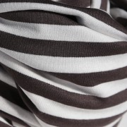 Nursing Cover white brown stripe