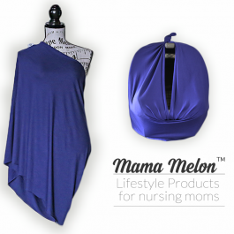 Nursing Cover - dark purple