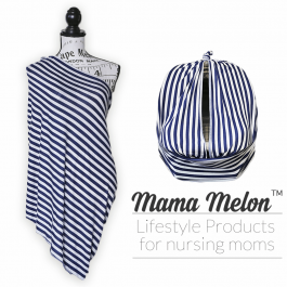 Nursing Cover - stripe