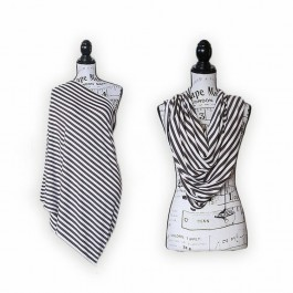 Nursing Scarf Cover - stripe
