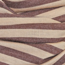 Nursing Cover brown-stripe