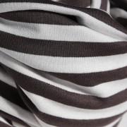 Nursing Cover white brown stripe